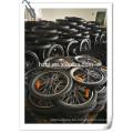DIY elektrisches Fahrrad Umbausatz mit bürstenlosen Hub-Motor Lithium-Ionen-Rack panasonic Batterie