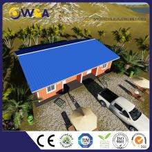 (WAS1010-36D) Hecho en casa prefabricada del chalet de China, casa panelizada de acero