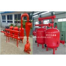 Durable filtro de arena de alta calidad para riego