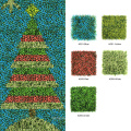 Xmas festive decorative DIY 1*3M artificial christmas tree for wall