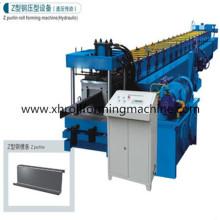 Prensa hidráulica en forma de Z rodillo Purlin formando la máquina