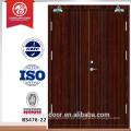 Puerta ignífuga de 30-120 minutos, puerta ignífuga de madera Puerta cortafuegos estándar de BS
