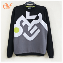 Mens Fashion Crew Neck Pullover Sweaters