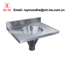 Edelstahl-Schlamm-Spülbecken-Mopp-Spülbecken-Reiniger-Wanne mit Ablass, China-chinesischer medizinischer Schlamm-Zufuhrbehälter für Krankenhaus-Gebrauch
