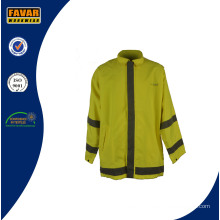 Breathable Waterproof Rain Jacket/ Waterproof Jacket/ High Visibility Jacket/ Workwear Jacket