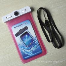100% versiegelte Smartphone PVC wasserdichte Tasche mit Thermometer (YKY7265)