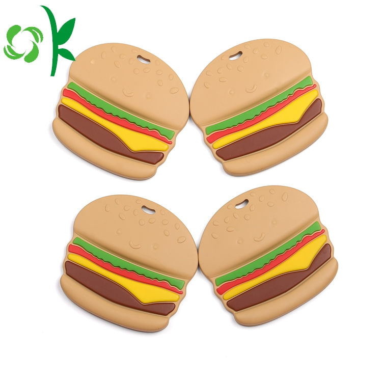 Hamburger Teething Toys