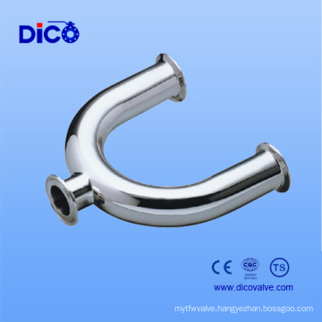 Stainless Steel Food Grade U Type Tee in China Manufacturer