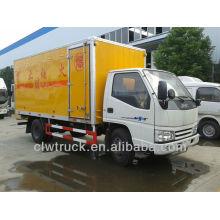 Jiangling 4X2 Anti-explosión camión para la venta, camión explosivo