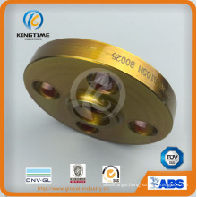 Carbon Steel A105n Slip on So Flange Forged Flange to ASME B16.5 (KT0402)