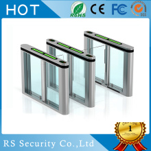 Security Pedestrian Entry Control Turnstiles Flap Barrier