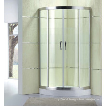 New Design Tempered Glass Simple Shower Cabin (D12)