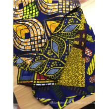 Neues Modell Damen Ankara Afrikanisches Wachs druckt Stoff