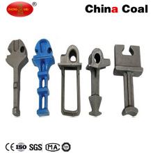 Plain Surface Cast Iron 5.6 Grade Rail Shoulder