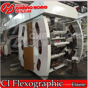 BOPP Pearl Label Film Flexo Máquinas de Impressão / Máquina (Satélite)