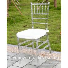 De estilo de bambú Monobloc inyección Resina Tiffany silla