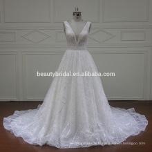 XFM023 incroyable dernière robe de conception robes de mariée en dentelle 2016 nuptiale