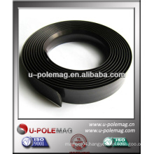 Strong flexible rubber magnetic strip