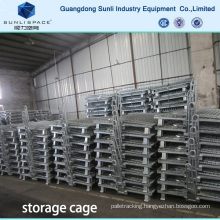 Foldable Cage Wire Mesh Container Box Pallet