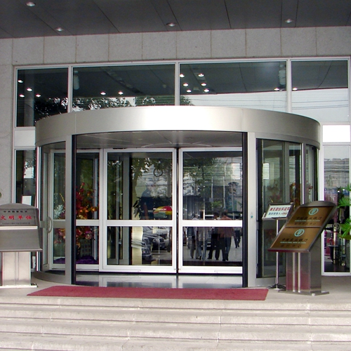 Two-wing Revolving Doors for Hi-tech Buildings