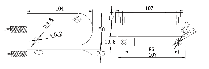 FBMC62-1 magnetic contact
