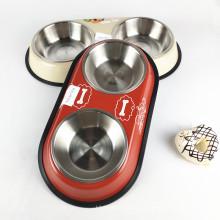 Подставка для миски для собак из нержавеющей стали