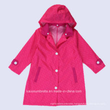 China Wholesale PU Coated Polyester Raincoat