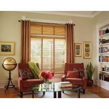 persianas de imitación de madera persiana de persiana veneciana