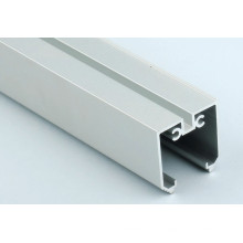 Powder Coated Curtain Track For Aluminum Extrusion Profile