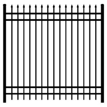 Wrought Iron Picket Fence Fence Gate