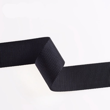 Abrasion Resistance Black Polyester/Nylon/Cotton Strap Webbing with Clips