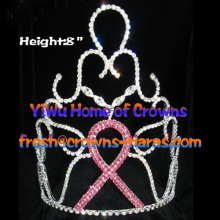 8inch Crystal Pageant Ribbon Crowns