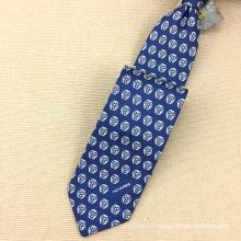 Cravates faites main d'impression d'écran de sergé de soie de 18MM faites sur commande des hommes