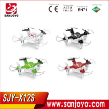 Syma X12S Mini Drone 4 channel 2.4GHz UFO 6 Axis Gyro RC helicopter Hexacopter Headless Quadcopter