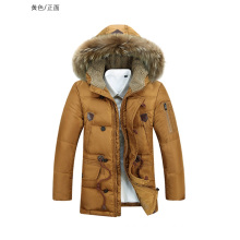 OEM China Factory Garments High Quality Cotton Winter Coat for Man