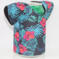 Neoprene T-shirt can koozie sleeves set with printing