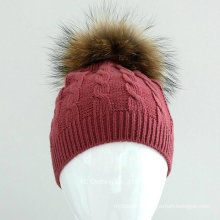 New Style Cute Wool Knitting Beanie Baby Cap