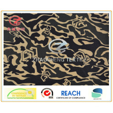 240t Ribstop Poly Pongee Desert Camouflage Printing Fabric (ZCBP150)