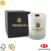Luxury custom candle packaging gift box