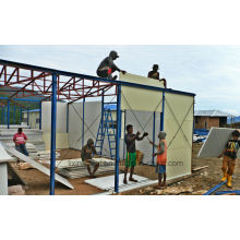 Reliable Steel Prefabricated House Building Manufacturer Supplier with SGS Test