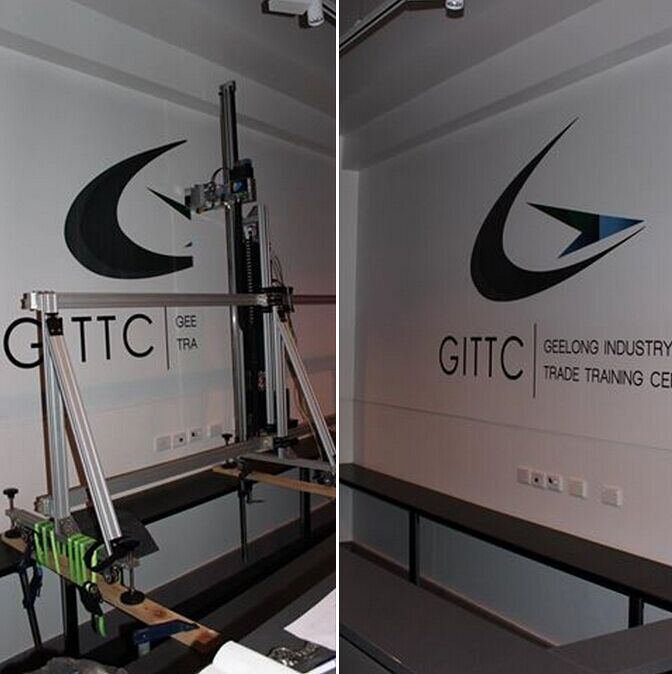 wall printer machine sample