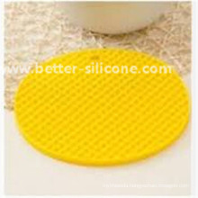Simple Round Shaped Rubber Pot Pad