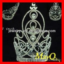Corona alta grande del desfile del diamante de la venta caliente