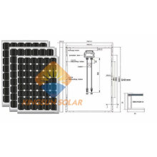 175-210W Mono Solar PV Panel with High Quality Made in China