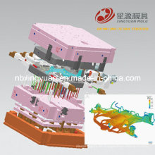 Exportieren Sie uns Hochdruck-Druckguss-Werkzeug Dme Standard Dievar P20 Stahl