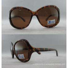 2016 Meilleures lunettes de soleil en plastique de conception en plastique P01044