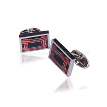 Clássico Moda Men's Silver Wedding Cufflinks