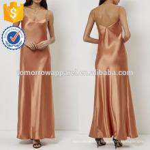 Новая мода оранжевый скольжения вечернее платье Производство Оптовая продажа женской одежды (TA5265D)