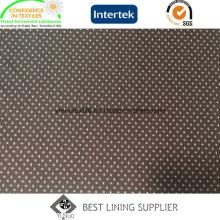 100 fabricante de China de la tela de la guarnición de la impresión de la chaqueta del invierno de los hombres del poliéster