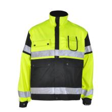chaquetas impermeables del desgaste del trabajo de la seguridad de la seguridad